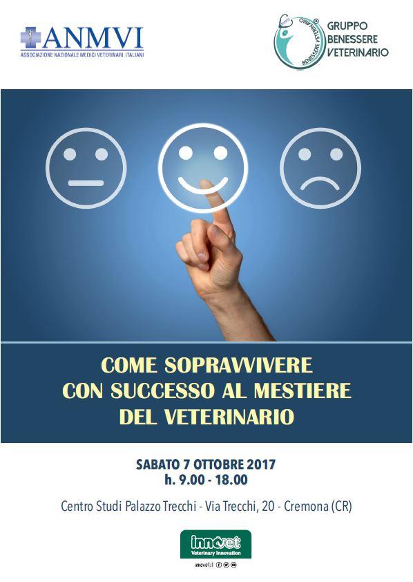 Come Sopravvivere Con Successo Al Mestiere Di Veterinario Anmvi Associazione Nazionale Medici Veterinari Italiani Palazzo Trecchi Cremona